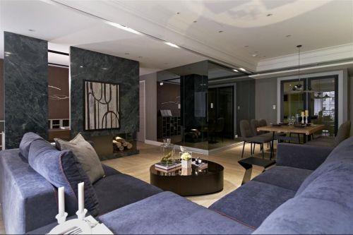 2016雅致大气现代风格灰色客厅欣赏