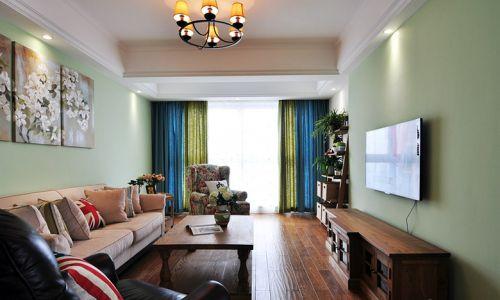 美式浪漫个性时尚雅致客厅美图