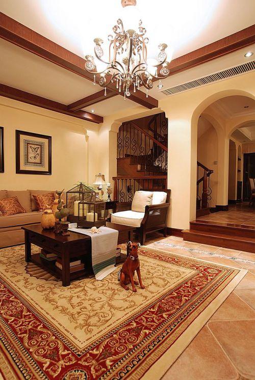 美式休闲客厅设计赏析