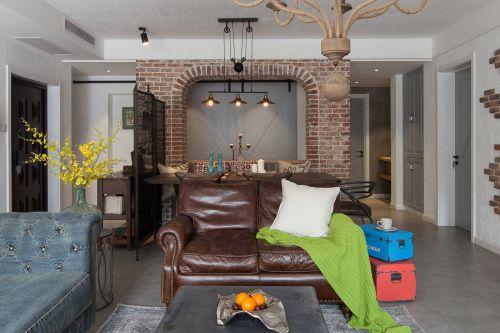 美式风格客厅装修装饰设计图