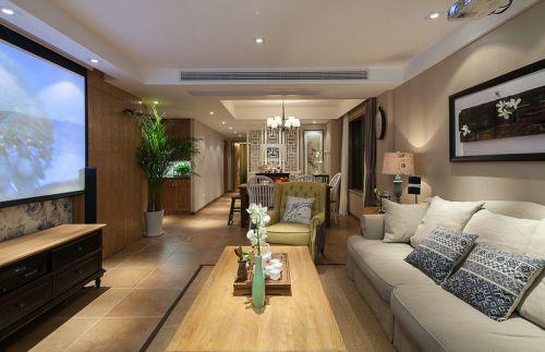 2016休闲美式风格客厅装饰案例
