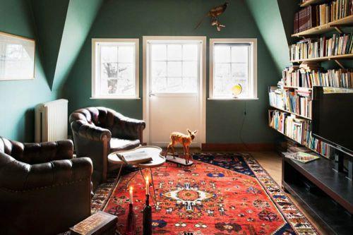 复古美式客厅个性布置