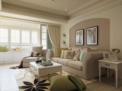 2016美式舒适客厅装修案例