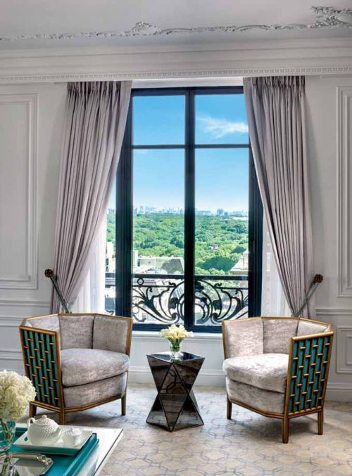 美式客厅飘窗装修效果图