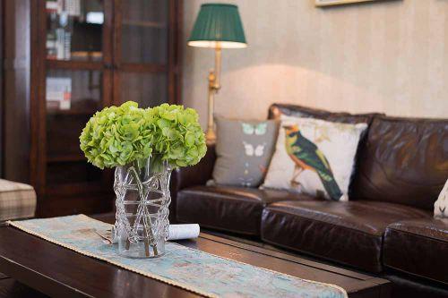 美式简约设计客厅装潢案例