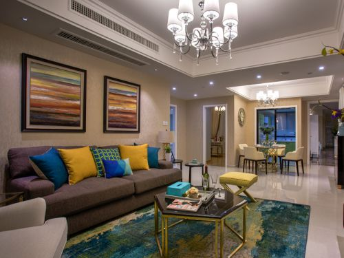 自由轻松美式风格客厅装饰