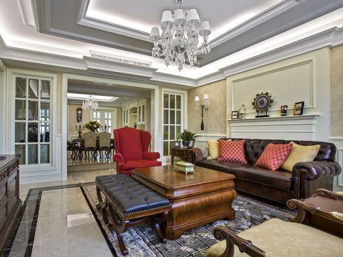 2016美式客厅装潢精品案例