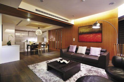 美式时尚客厅大气装修美图欣赏