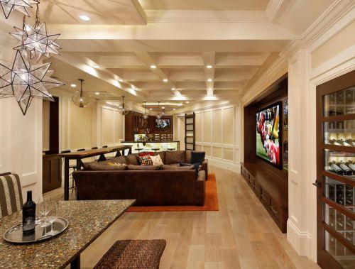 2016美式风格客厅装修图片欣赏