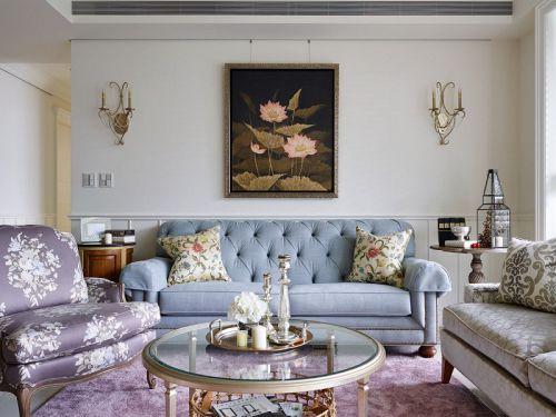 美式田园风格客厅装饰