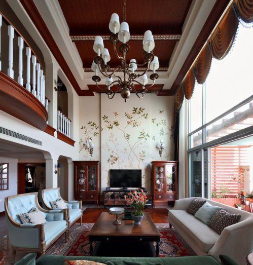 2016美式风格客厅图片赏析