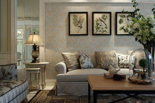 美式风格客厅装修效果图片