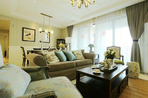 2016美式风格客厅设计装潢