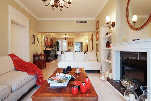 2016美式舒适客厅设计图片欣赏