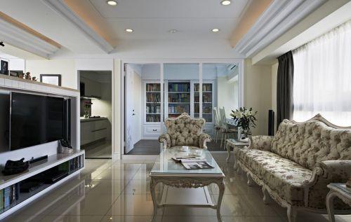 现代感美式客厅装潢