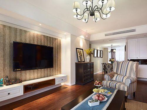 简约休闲美式客厅设计欣赏