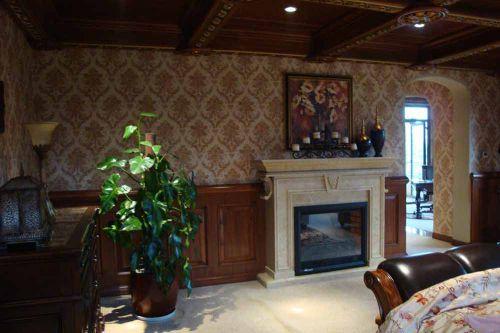 经典复古美式风格客厅装潢设计
