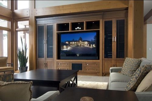 深沉大气典雅美式风格客厅装修设计展示