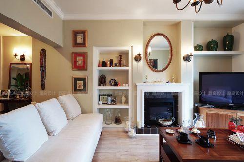 美式风格时尚客厅设计图