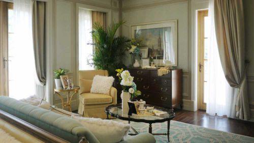清新自然美式客厅装饰