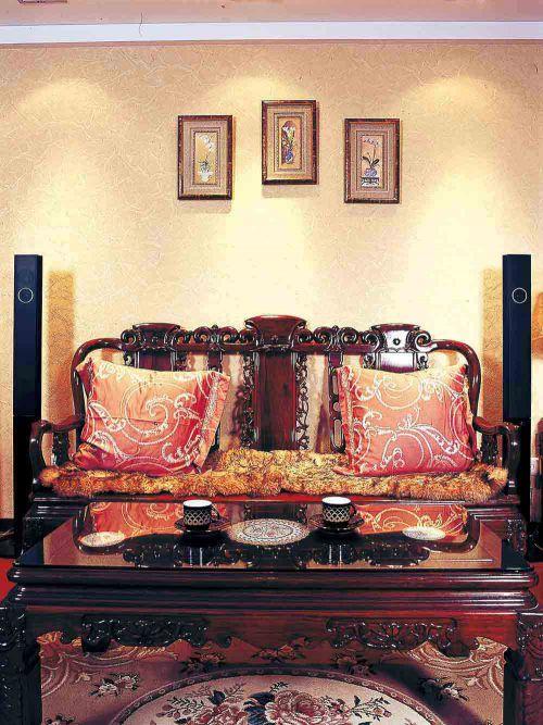 精致美式时尚客厅装潢装修
