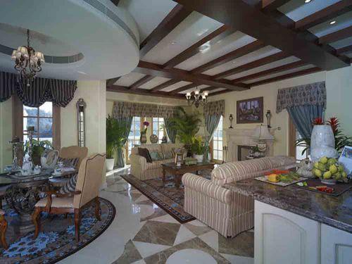 美式装饰客厅设计欣赏