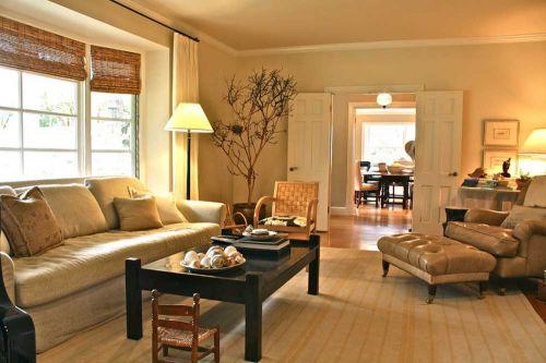 文艺质朴美式客厅装修赏析