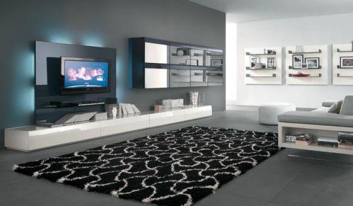 混搭风格客厅装饰设计图片