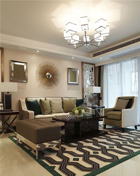 混搭风格客厅装修效果图片