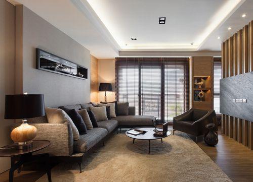 混搭客厅装饰设计图片