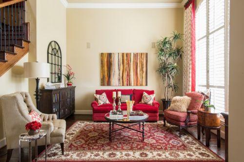 个性混搭风格客厅装修效果图片