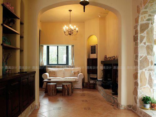2016美式休闲客厅装修案例欣赏