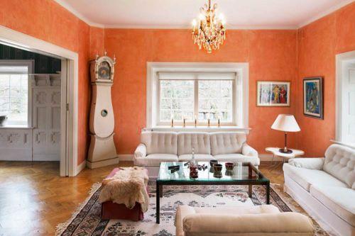 2016温馨时尚简约美式客厅布置效果图
