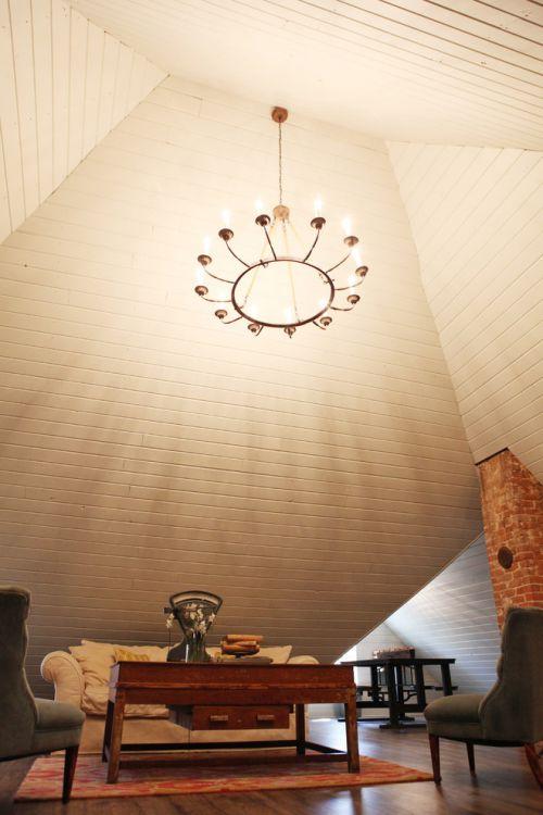 米色混搭风格客厅装修案例