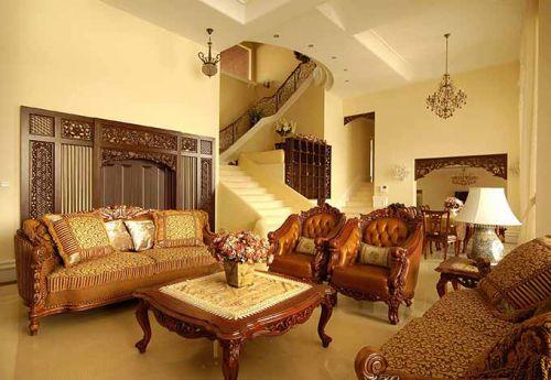 美式客厅装潢设计