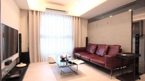质感美式风格客厅装修案例
