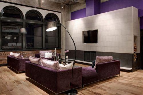 大气奢华魅力美式风格客厅设计案例