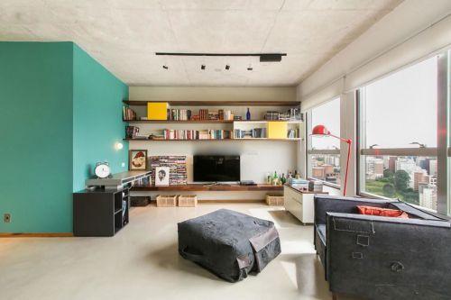 混搭风格客厅装修美图赏析