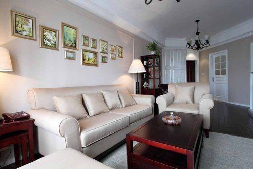 混搭风格流行元素客厅布置