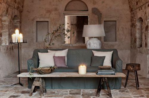 自然混搭风格客厅设计欣赏