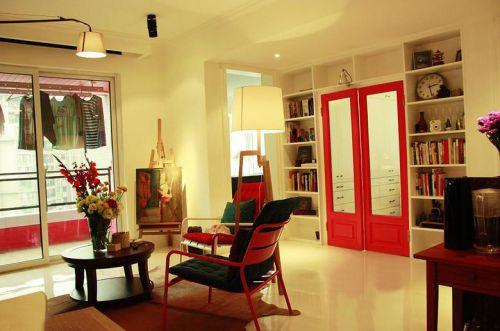 创意个性混搭风格客厅设计案例
