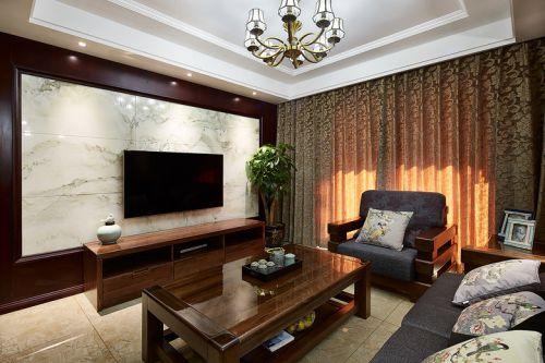 质朴混搭风格客厅装饰图欣赏