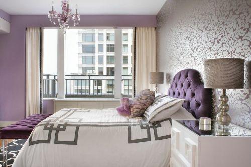 灰色混搭风格客厅装饰图欣赏