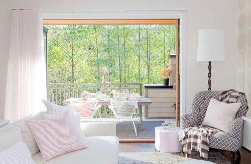 现代混搭风格设计客厅效果图