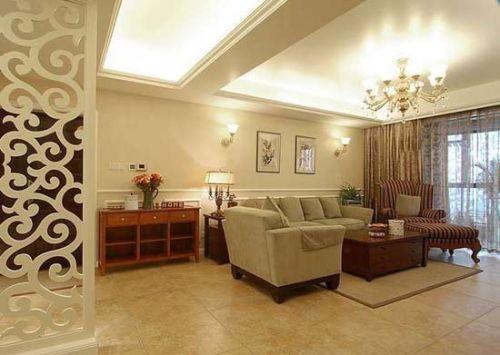 时尚混搭风格客厅装修设计赏析