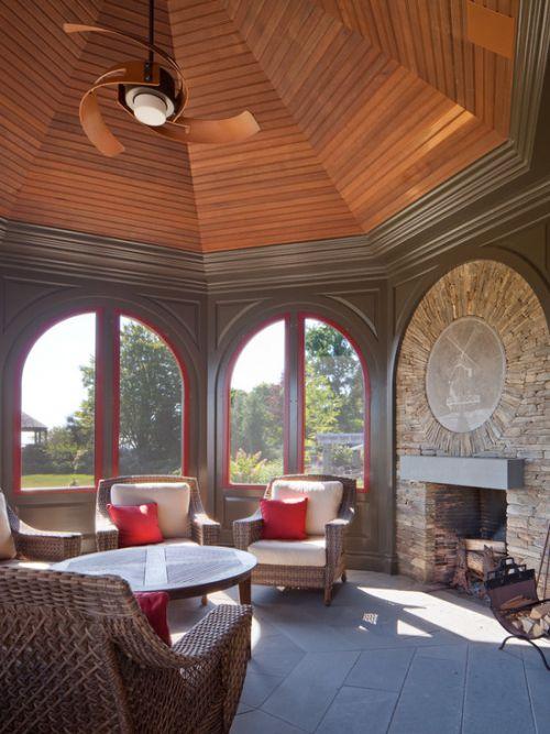 创意个性混搭风格客厅装修图