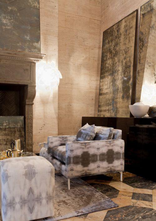 时尚混搭风格客厅装修图片