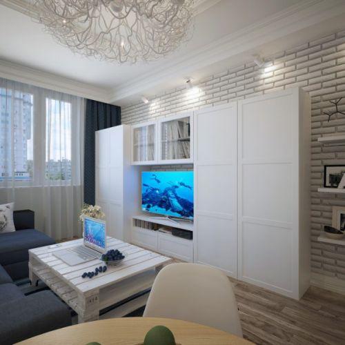 白色精致轻奢混搭风格客厅设计图片赏析
