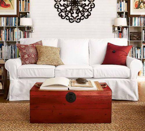 2016白色混搭风格客厅图片欣赏