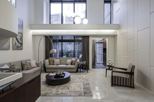 混搭现代风格灰色客厅设计赏析